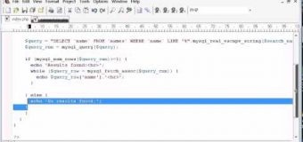 Beginner PHP Tutorial – 133 – LIKE With a Search Engine Example Part 4