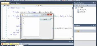 Visual Basic Tutorial – 134 – Catching Specific Exception Types
