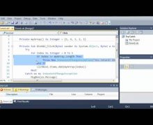 Visual Basic Tutorial – 135 – Exit Try And Throw