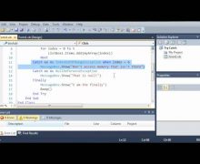 Visual Basic Tutorial – 137 – When Keyword