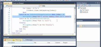 Visual Basic Tutorial – 137 – When Keyword