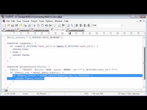 Beginner PHP Tutorial – 142 – Getting User Data Part 2