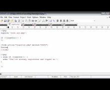 Beginner PHP Tutorial – 144 – Registration Form Part 1