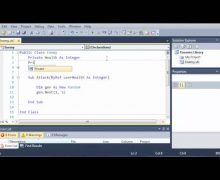 Visual Basic Tutorial – 145 – Game Part 1   Class Libraries