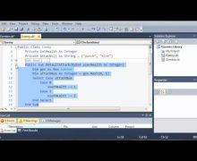 Visual Basic Tutorial – 146 – Game Part 2   Creating The Classes