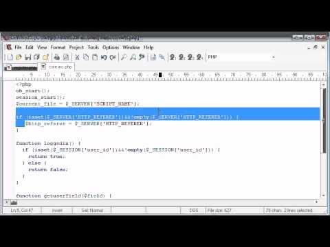 Beginner PHP Tutorial – 148 – More Validation Part 1