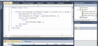 Visual Basic Tutorial – 148 – Game Part 4   More On GUI
