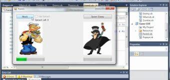 Visual Basic Tutorial – 153 – Game Part 9   Enemy Attacks Back