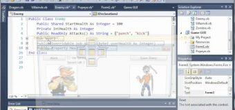 Visual Basic Tutorial – 155 – Game Part 11   Fixing The Health Logic Error