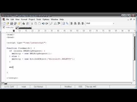 Beginner PHP Tutorial – 176 – Auto Suggest Application Part 2